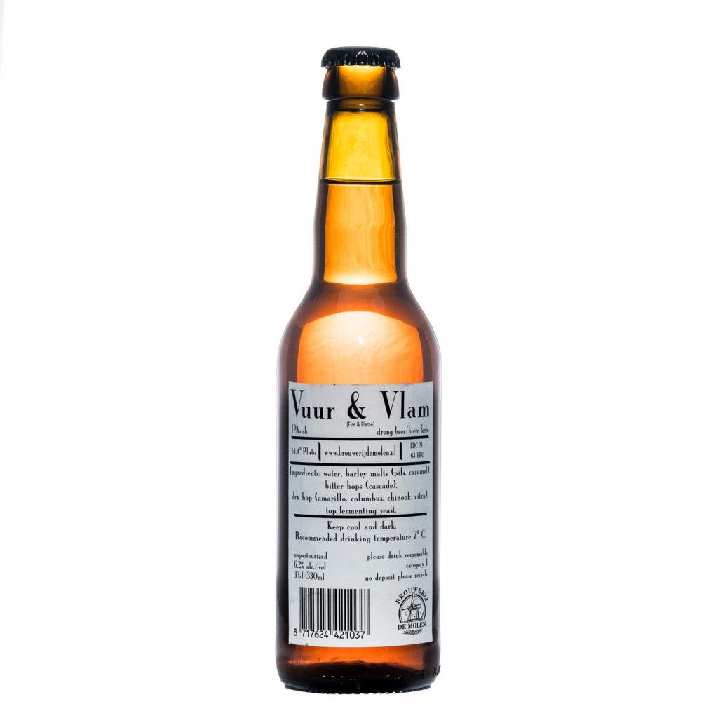 Bière IPA Vuur and Vlam de De Molen