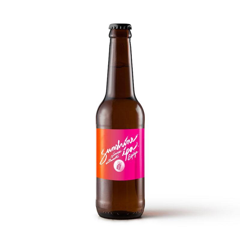 Bière IPA Sunshine IPA de la brasserie Espiga